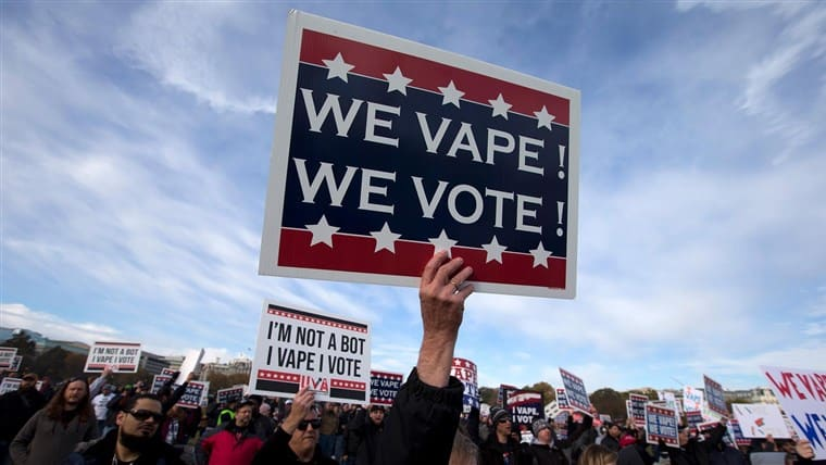 電子煙 投票