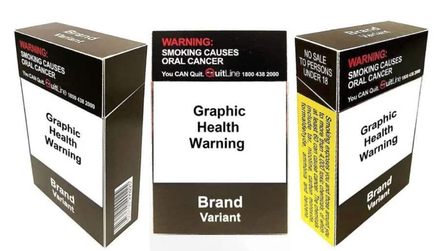 新加坡 素面包裝 菸盒