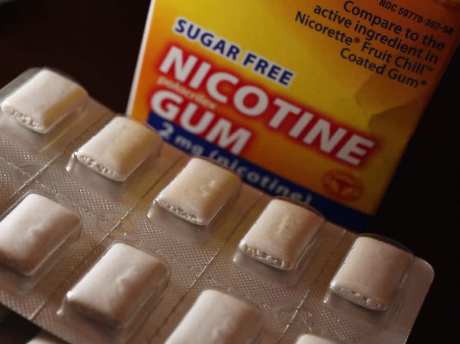 尼古丁 口香糖