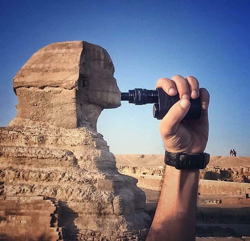 埃及 電子煙 人面獅身像