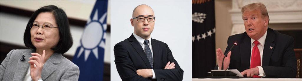 蔡英文-王郁揚-川普